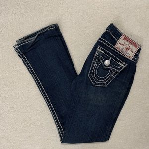 True Religion BECKY Super T straight Size 26x30